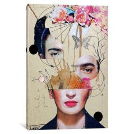 East Urban Home 'Frida for Beginners' Graphic Art Print on Canvas _ Wayfair